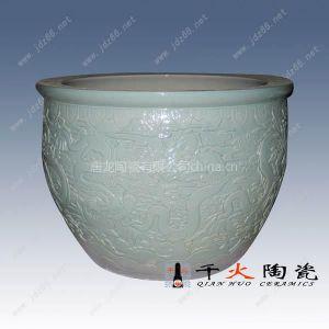 供应陶瓷大鱼缸,陶瓷大水缸,景观大缸,园林景观