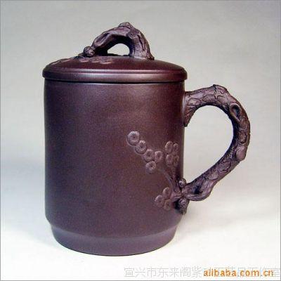 松树盖杯|紫砂茶壶|紫砂壶|紫砂茶杯|宜兴紫砂杯|