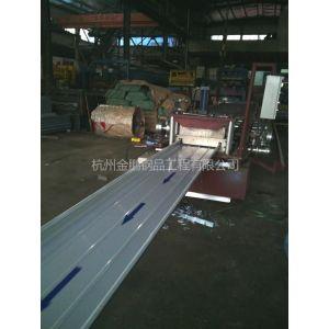 供应浙江杭州470,430彩钢瓦铝镁锰设备现场加工出租