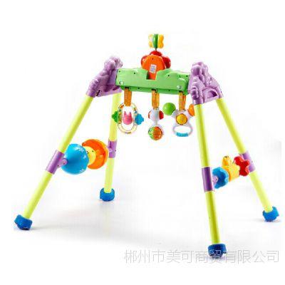 澳贝正品婴幼儿益智锻炼身体玩具 音乐健身架宝宝***爱 463302