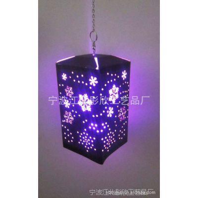 批发供应优质七彩工艺LED纸灯 厂家直销 精美DIY镂空灯饰量大从优