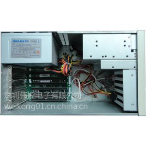 供应研华iPC-6606 壁挂式工控机箱(含电源底板) 原装正品现货