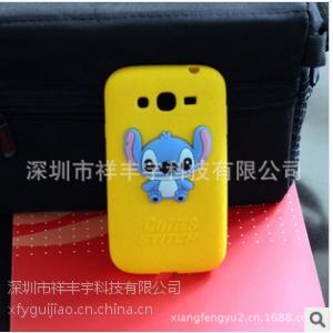 供应工厂出售 苹果5/iphone5史迪仔手机保护套、 iphone4立体卡通硅胶套