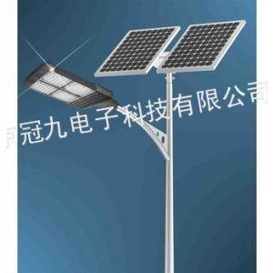 供应南京太阳能路灯、冠九科技生产、质保3年、终身维护