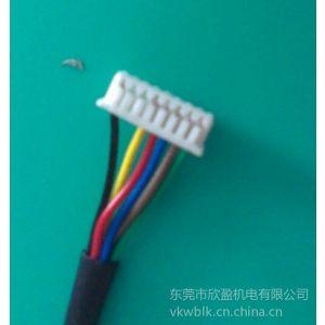 供应东莞厂家直销51021-0800原厂进口线束,MOLEX1.25线束,50058-8000端子线