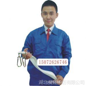 供应春秋劳保工作服 艳蓝长袖车间厂服套装 可按要求定做工程服