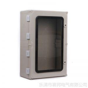 供应户外PC透明防水箱 600*400*195mm开关电源分线箱