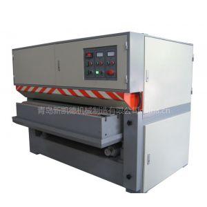 供应新凯德湿式铝板抛光机丨铝板拉丝机丨不锈钢磨砂机