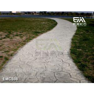 供应彩色水泥地坪,《印花地坪》,艺术路面/彩色路面>-<热卖了