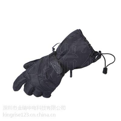 供应电加热发热手套充电发热保暖手套