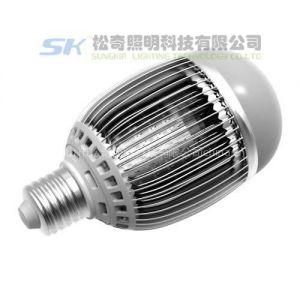 供应LED球泡灯 PC灯罩 优质铝合金 进口芯片LED球泡灯 图片