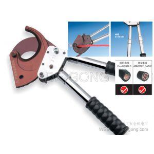 供应棘轮剪刀【厂家直销】 齿轮断线钳 手动棘轮电缆剪 J75
