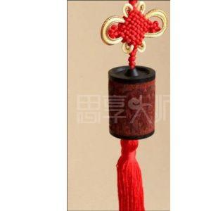 供应红木商务礼品挂坠系列-红酸枝黑檀实木车挂坠-花开富贵