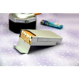 厂家供应精美铝制自动烟盒 可根据需要定做