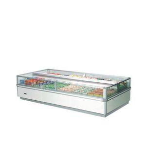 供应超市用双出风岛柜 卧式冷冻柜 水饺冷冻展示柜