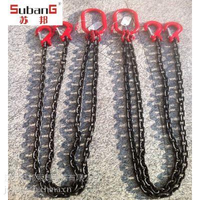 【苏邦低价销售】链条索具 起重链条 链条成套吊具 起重吊索具
