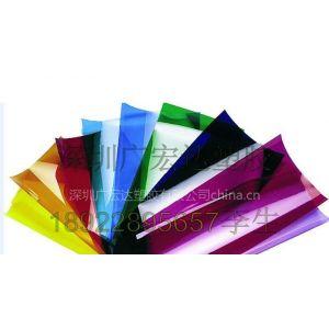 供应透明彩色PVC胶片
