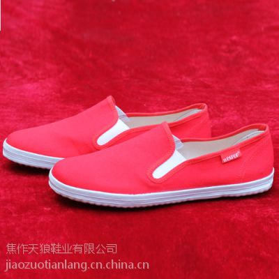 河南温县鞋厂TLOSPOP双松紧男士帆布鞋学生板鞋单鞋