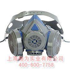 专业供应硅胶双罐防尘面罩|防尘面具|上海防毒面罩