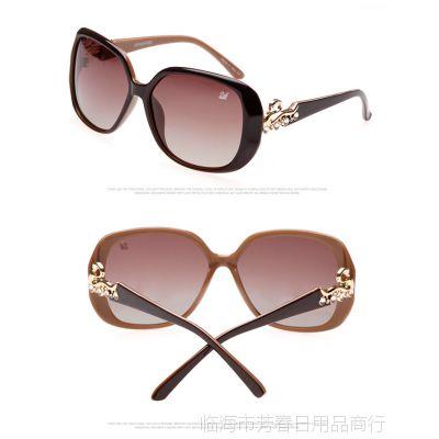 2014太阳镜女款 潮人墨镜 高端品牌眼镜 批发防紫外线偏光镜