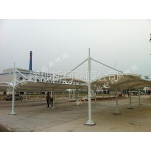 供应车棚膜结构建筑施工
