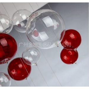 供应厂家供应定做酒巴、酒店装饰配件 KTV玻璃装饰球