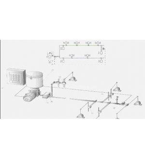 供应双线终端式智能润滑系统