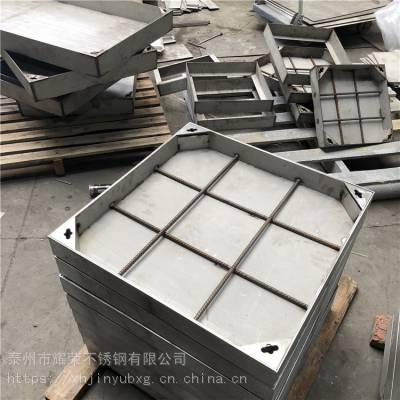 厂家热销优质201不锈钢方形井盖 隐形井盖 金裕