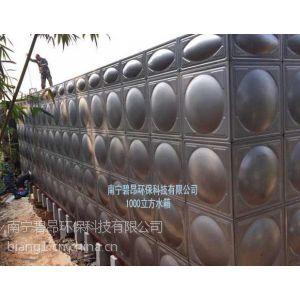 供应南宁碧昂生产销售一千立方不锈钢水箱-水泵房一体化设备