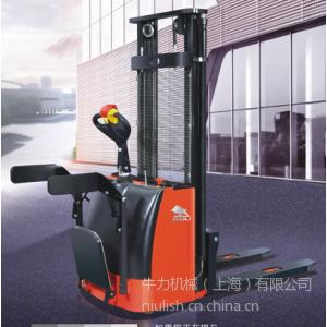 上海牛力机械CTQ全电动堆高车厂家 全电动升高车多少钱一台?