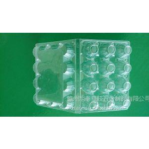 供应江西厂家直销12枚鸡蛋包装盒 PVC折盒 PS蛋糕托 鸡蛋吸塑包装
