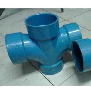 PVC四通管件模具-九铖模具