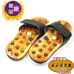 供应红砭石保健拖鞋 砭石保健按摩鞋 促进血液循环 预防各类疾病