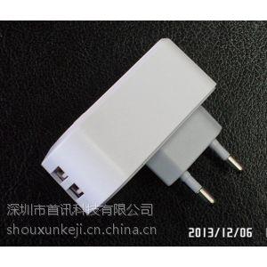 供应\'琪品GEMPIN\'8020双USB充电器