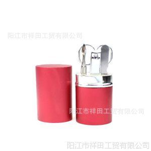 供应吕筒6件套 不锈钢指甲钳 现货产品  创意礼品 美容套装
