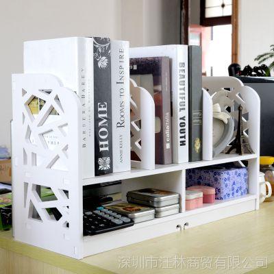 特价无漆环保办公韩版简易书架整理架宜家置物架收纳架可水洗柜子