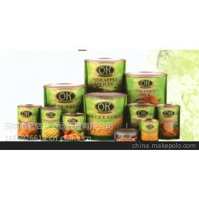 专业代理食品进口运输,专业进口美国罐头TNT快递空运代理