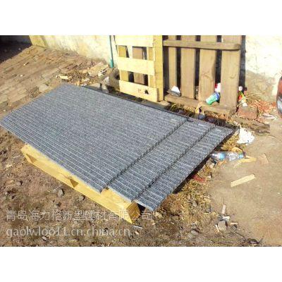 供应加工订制各种铝合金地垫(平铺型和坑内型)