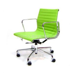供应深圳众晟家具EA-117皮质办公会议椅子