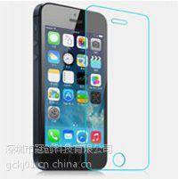 供应iphone 5/5c/5s 钢化玻璃膜