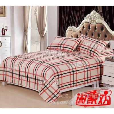 老粗布床上用品