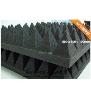 供应100MM金字塔吸音棉 坤耐出品 品牌质量保证高效吸音