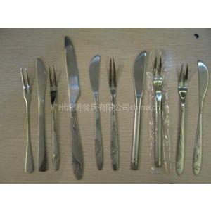 供应炫朗不锈钢餐具--月饼刀叉