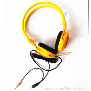 供应SONY HP DELL 头戴护耳式有线耳机/耳麦 带麦克风 颜色品牌随机