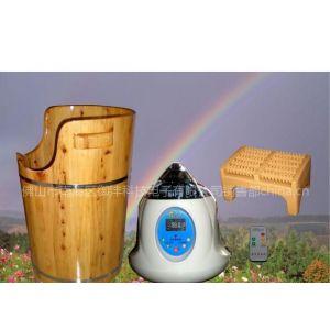 供应香柏木中药负离子蒸汽熏蒸桶X-900