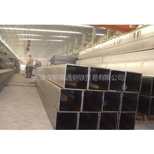 供应带钢经过拆包,平整,卷曲,焊接形成圆管轧制成方形管然后剪切成需要长度叫矩管