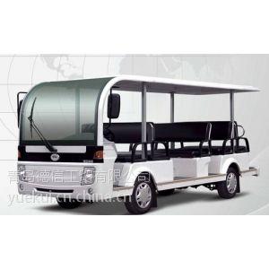 供应14座动力强劲福田奥星燃油观光车 旅游燃油观光车