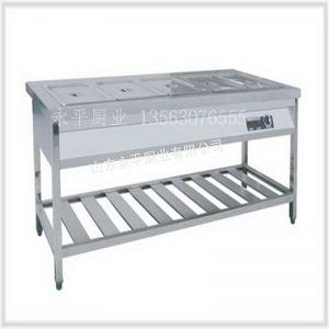 供应保温售饭台 打合台 超市柜 售饭台 机械设备 水池 货架