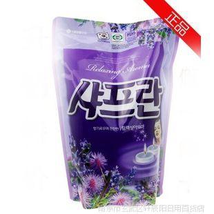 韩国进口 LG紫色薰衣草 衣物柔顺剂 防静电 J20616