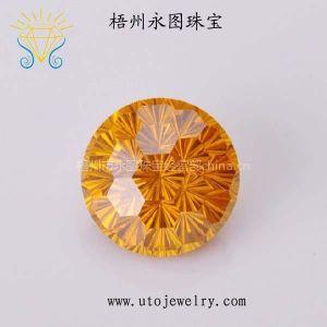 供应永图珠宝直销优质锆石CZ 梧州人造宝石裸石